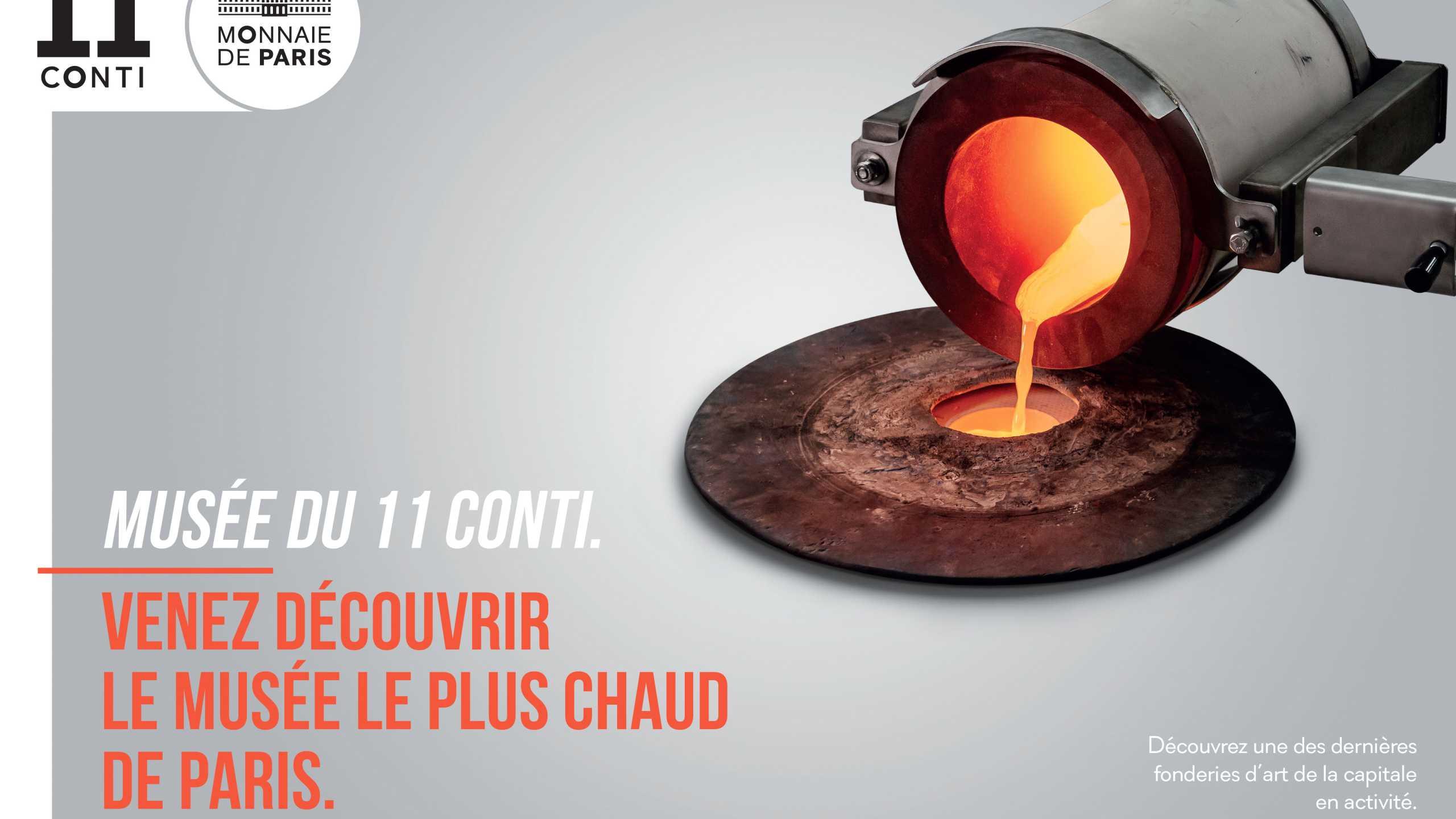 Venez découvrir le musée le plus chaud. de Paris