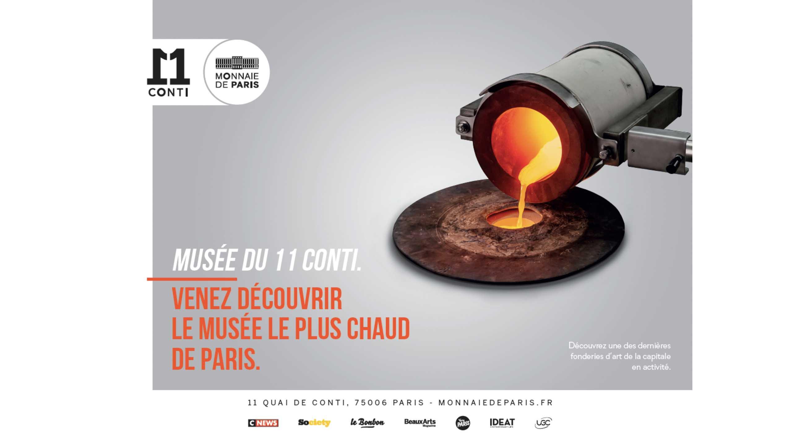 Venez découvrir le musée le plus chaud de paris